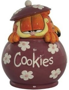 New Westland Giftware Garfield Cookies Cookie Jar