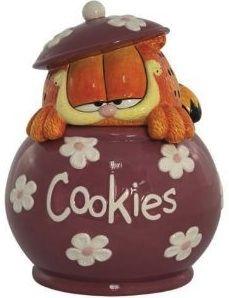 New Westland Giftware Garfield Cookies Cookie Jar