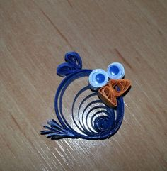 Angry Bird Quilling