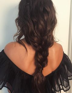 ♥️ Pinterest: DEBORAHPRAHA ♥️ loose braid hair style
