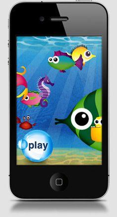 Best Education Apps iPhone App for Kids - Fish School by Duck Duck Moose | Babble