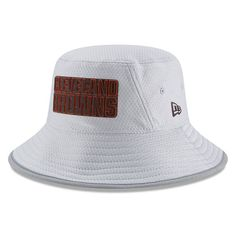 f9c2b991891 Men s New Era Gray Cleveland Browns 2018 Training Camp Official Bucket Hat