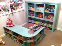 Pretend Play Market Stall