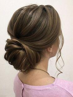 awesome 49 Trendy Chic Updos Ideas For Medium Length Hair https://fashioomo.com/2018/05/13/49-trendy-chic-updos-ideas-for-medium-length-hair/