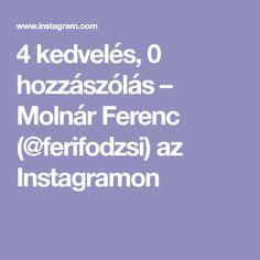 4 kedvelés, 0 hozzászólás – Molnár Ferenc (@ferifodzsi) az Instagramon Instagram