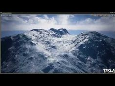 Unreal Engine 4 - Custom Heightmap (Example) - YouTube