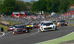 Brands Hatch hosts top class international GT racing, with a massive grid set to contest the Blancpain GT Series Sprint Cup races on the Grand Prix circuit. F1 Racing, Grand Prix, Super Cars