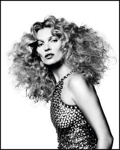 Visual Artists — David Bailey shoots Kate Moss for French Vogue