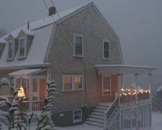 A Coastal New England Dutch Colonial Home