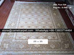 silk on silk carpet #carpet#rug#handmadecarpet#handmaderug