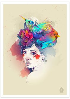 SPRING by DSORDER ., via Behance