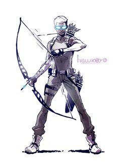 hawkeye_by_cle2