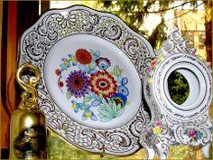 Hollóházi porcelán. Hungary Heart Of Europe, 10 Picture, Hungary, Folk Art, History, Tableware, Homeland, Travel, Historia