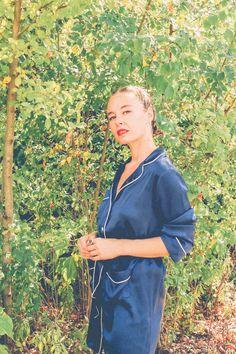 Parosh pijiama vestaglia fashion style blogger trecce