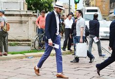 Tommy Ton's Men's Street Style at Milan Fashion Week: Style: GQ