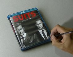 WATCH ME DRAW IT: https://www.youtube.com/watch?v=30SQRbcUkqU&index=4&list=PLEKv0jWmqLM3uGkCTtLBn6Gof2WRe6n7Y #marcellobarenghi #suit #bluray #cover #drawing