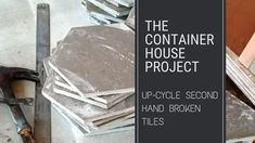 Up-cycle Second Hand Broken Tiles - Small Scale Engineering Cheap Tiles, Small Tiles, Tile Saw, Hexagon Tiles, Thought Process, Shower Floor, Two Hands, Home Projects, Something To Do