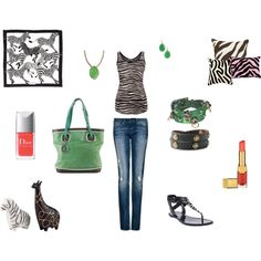 Walk on the wild side, created by stephanie-pettitt-michelli on Polyvore