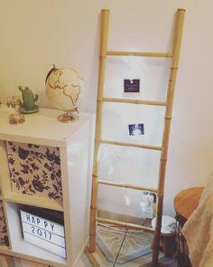 . ♡Sysyinthecity♡ a elle aussi flashé sur cette #échelle en #bambou porte-#photos (8€ #babou)