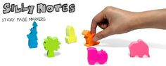 House Page Markers : Colourful stickers make themselves at home on your desk