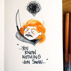 www.ignasifont.com www.facebook.com/ignasifontartwork Ygritte! Game Of Thrones  There's a new #doodle on my #sketchbook A little tribute to one of my fav characters from #GameOfThrones  By: Ignasi Font