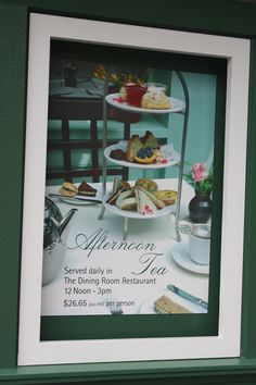 Tea room at Butchart Gardens, outside of Victoria, BC, Canada.