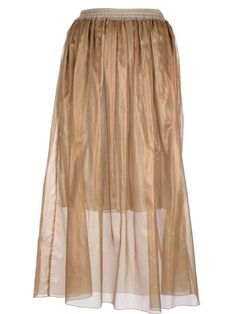 Forte Forte pleated silk skirt