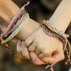 Mommy And Me Stacking Bracelet Sets, Fair Trade And Ethical by TheFairLine on Etsy