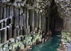 Grotta di Fingal sull'isola di Staffa, Scozia
