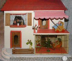 1000 images about tiny kings and queens on pinterest modern dollhouse dollhouses and doll houses. Black Bedroom Furniture Sets. Home Design Ideas