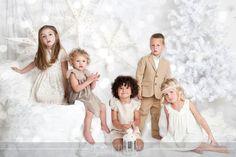 Mini Christmas photo session.  White on white.  Love it.