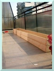 cutieptcastnast3 229x300 How to: Make a wooden raised planter for your balcony (any size)