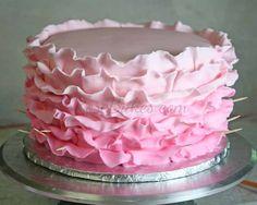 How to Do Fondant Ruffles on a Cake 14