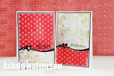 ♥ kreativt uttrykk ♥ Uke 2/ kort 6 Cards, Maps, Playing Cards