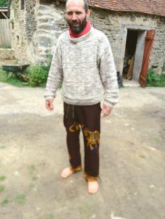 cómodos y ligeros/pantalón hombre/Tela Africana
