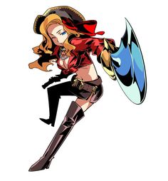Buccaneer Female from Etrian Odyssey III: The Drowned City