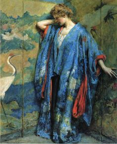 Robert Lewis : Reid Blue and Yellow http://upload.wikimedia.org/wikipedia/commons/1/1a/Reid_Robert_Lewis_Blue_and_Yellow.jpg