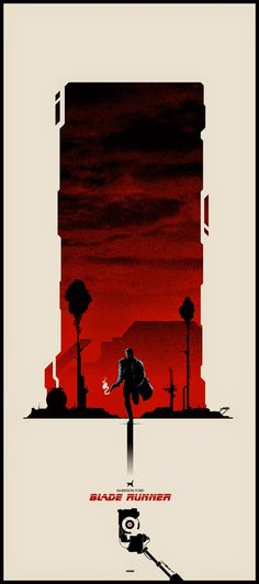 The Geeky Nerfherder: Cool Art: 'Blade Runner' by Matt Ferguson