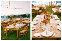 Our hand-crafted wood Farm Tables are made in-house and measure 8'x46″ seating up to 12 guests. Designed to be used bare or with a runner, these tables are perfect for the wine country wedding, family style meal, or coast-side dinner. We love them used as buffets, escort card tables, or for guest book signing. The …