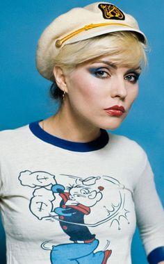 """thegoldenyearz: """"Debbie Harry by Lynn Goldsmith, 1978 """""""