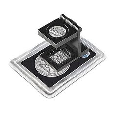 Coin Collector's Pocket Magnifier With 6x Magnifying Lens