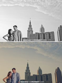 The Cleveland Skyline is beautiful - especially when accented by these two ;)