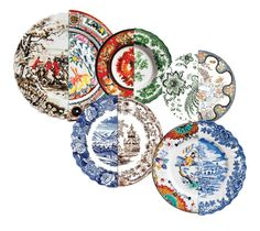 Seletti Hybrid plates for in the kitchen a must! Read all about it: www.littlebrookroad.com . Home interior Living inspiration ideas decoration styling trending hip tips.