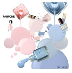 """Pantone Beauty: Rose Quartz and Serenity"" by sharmarie ❤ liked on Polyvore featuring beauty, Essie, NARS Cosmetics, Smith & Cult, Deborah Lippmann, Dolce&Gabbana and Topshop"