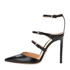 Onlymaker Womens Fashion High Heel Black Sandals Size US 9 ** Read more  at the image link. (This is an Amazon affiliate link)