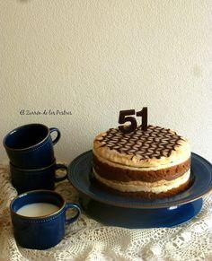 El Zurrón de los Postres: Tarta el Capricho de Moisés Sin Gluten, Tiramisu, Cupcake Cakes, Waffles, Breakfast, Ethnic Recipes, Chocolates, Comics, Cakes