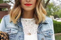 Navy Grace Blog by Camilla Thurman | A Fashion + Lifestyle Blog -- Pop of Summer Red