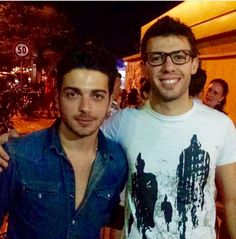 Gianlluca Ginoble of Il Volo winner of the prestigious SanRemo 2015 award