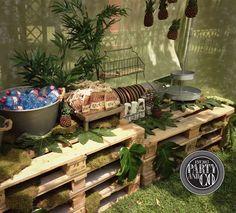 jungle safari animals baptism party ideas anniversaires moise et aventurier. Black Bedroom Furniture Sets. Home Design Ideas