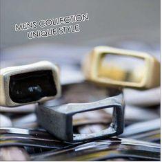 Handmade in Greece silver rings